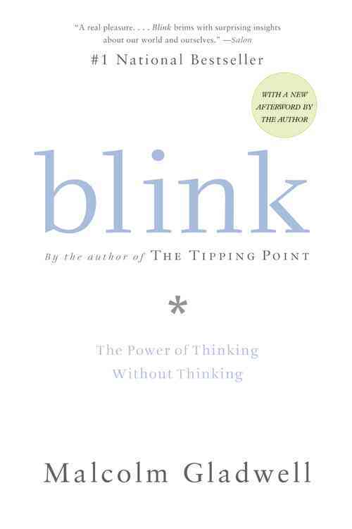 Blink By Gladwell, Malcolm